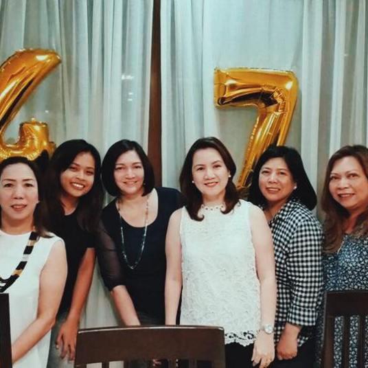 Mama's highschool friends