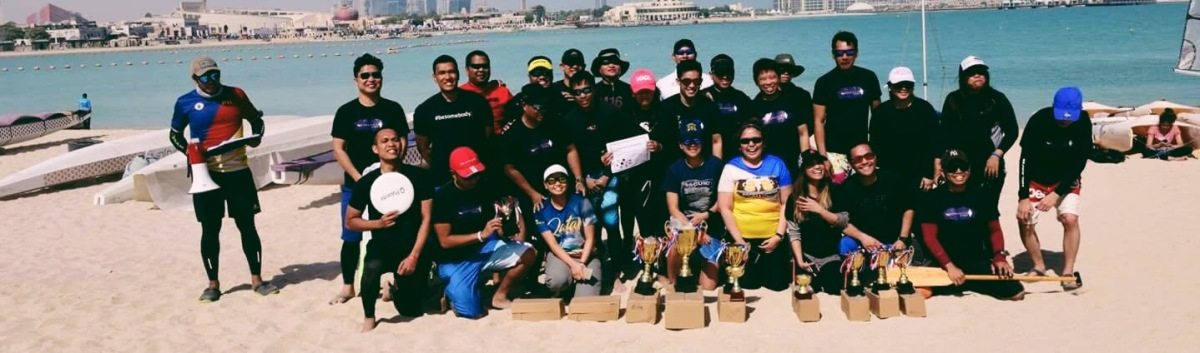 Qatar Sports Day: Buhangin Divers Paddlers(for a day)